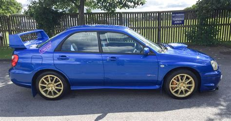 blue subaru the blobeye subaru impreza wrx sti is the best way to get