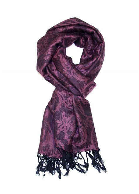 Pashmina Flower mopas pashmina style winter scarf flower