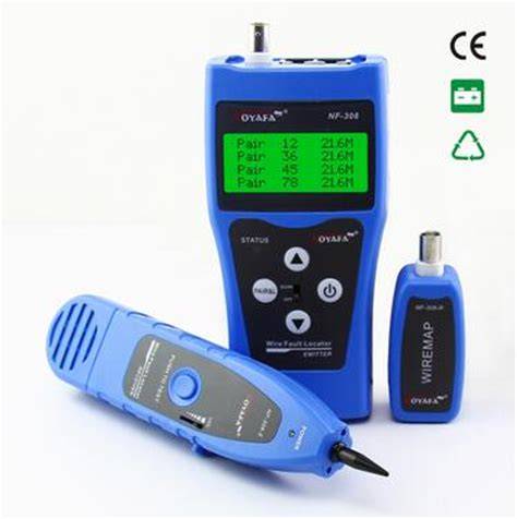 Promo Cable Tester Nf 308 free shipping noyafa nf 308b network cable tester lan