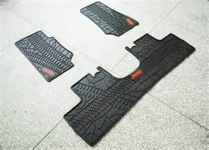 Jeep Wrangler Floor Mats Rubber Slush Floor Mats 3 Pieces Set For Jeep Wrangler
