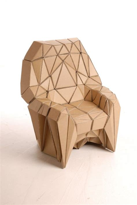 Cardboard Origami - best 25 cardboard chair ideas on cardboard