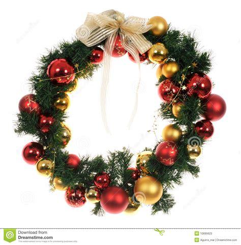 christmas wreath stock photos image 10695623