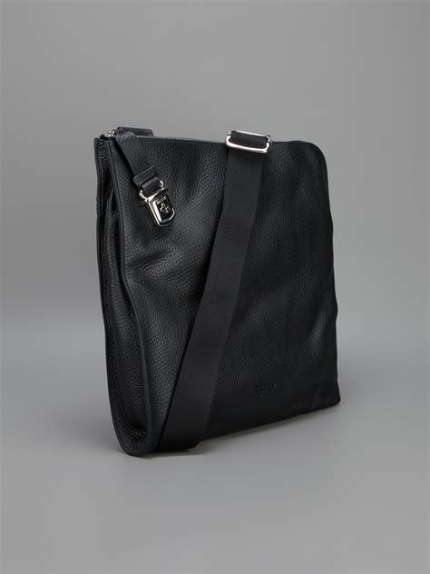 Office Bag Bally 8632 3 bally mezzimd messenger bag in black for lyst