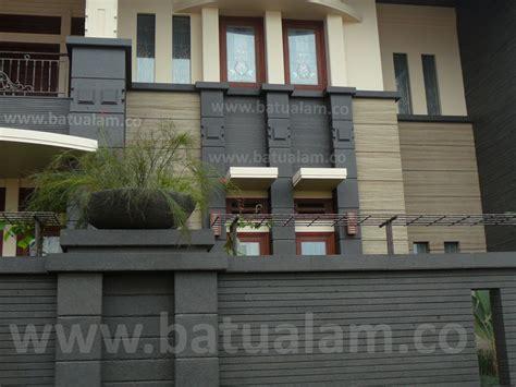 Batu Alam Sisir wow 20 contoh batu alam hitam untuk dinding depan rumah 21rest 21rest