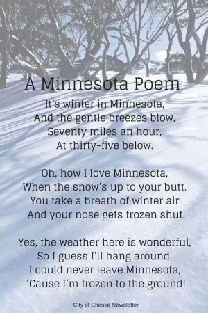 quotes about minnesota winter. quotesgram