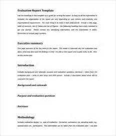 Sample Report Doc Doc Executive Summary Template For Report 31