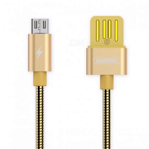 Remax Fast Charging Micro Usb Cable Data Charger For Sm Murah remax metal 2 1a micro usb to usb fast charging