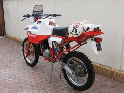 Ktm Dakar Ktm 495 Fenwick 1981 La Historia De Par 237 S Dakar