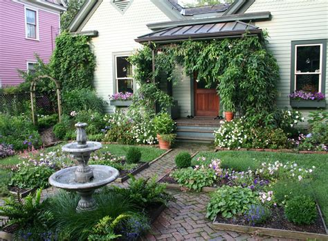 cottage style backyards cottage landscaping ideas cottage garden gardening with