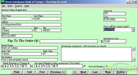 Free Background Check Software Free Check Printing Software 2000 Check Printing Software 2000 1 2