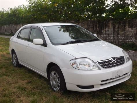2001 Toyota Corolla For Sale Used Toyota Corolla 1 5x 2001 Car For Sale In Islamabad