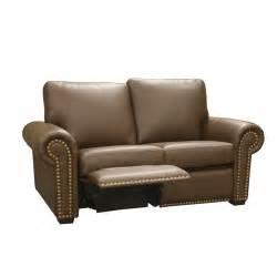 leather reclining loveseat wayfair