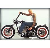 A Custom Made Chopper Of Exile Cycles Bar Hopper  Moto