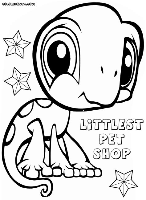 coloring pages vip pets littlest pet shop coloring pages coloring pages to