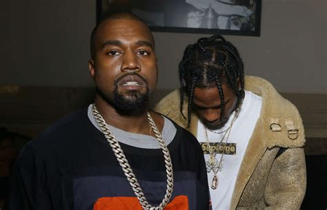 kanye west will be travis scott amp kylie jenner s baby s