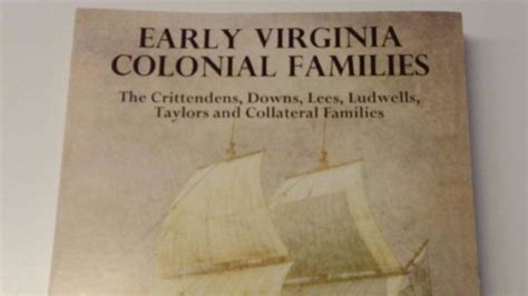 a small town story colonial virginia books book uncovers new information about virginia s colonial