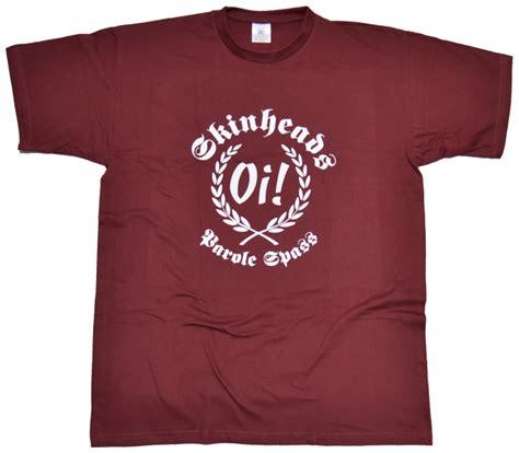 Tshirt Skinhead t shirt skinheads oi parole spass g501 skinhead shop t