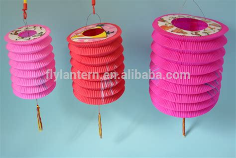 How To Make Accordion Paper Lanterns - wholesale folding cylinder paper lantern buy