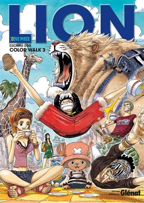 film one piece le lion d or revue artbook one piece color walk tome 3 lion eiichiro oda