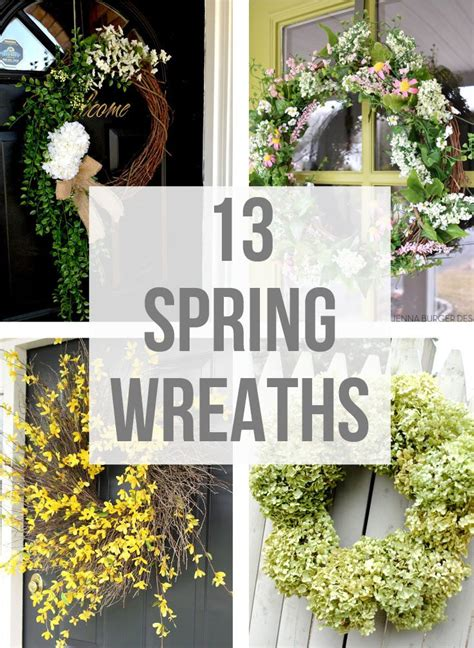 spring wreath ideas 13 spring wreath ideas kick off friday craftivity designs