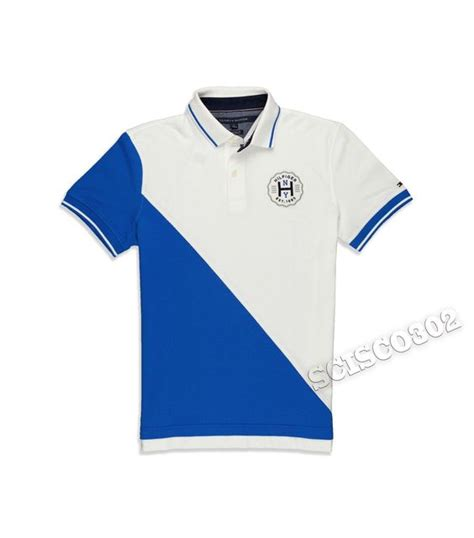 Kaos Baju T Shirt Yellow Rangers hilfiger polo shirt white blue pieced polo custom fit t shirt shirts