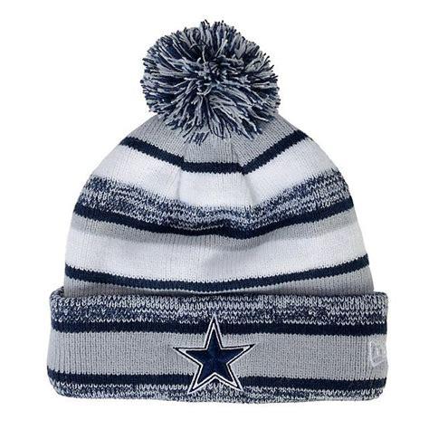 Nike As Nike Scoop Script Fade mens dallas cowboys navy blue pom pom cuffed knit hat