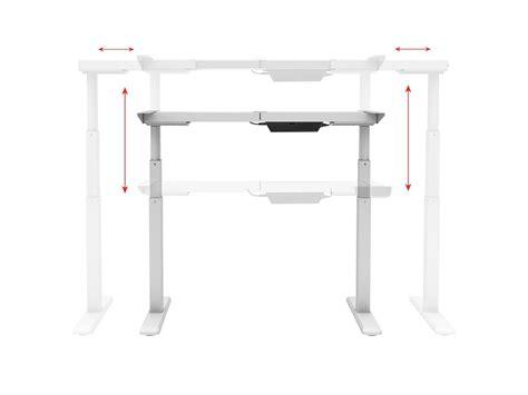 sit stand dual motor height adjustable desk frame sit stand dual motor height adjustable table desk frame