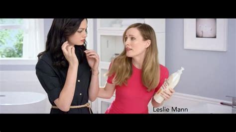 leslie mann lotion jergens ultra healing tv commercial beauty beyond the
