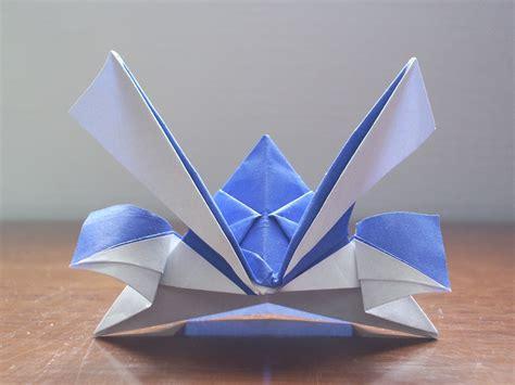 samurai helmet origami katakoto origami origami kabuto