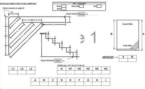 hauteur d une re d escalier 3237 forfait escalier liner plage forme a distripool