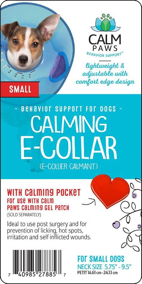 calm dogs calm paws calming e collar small chewy