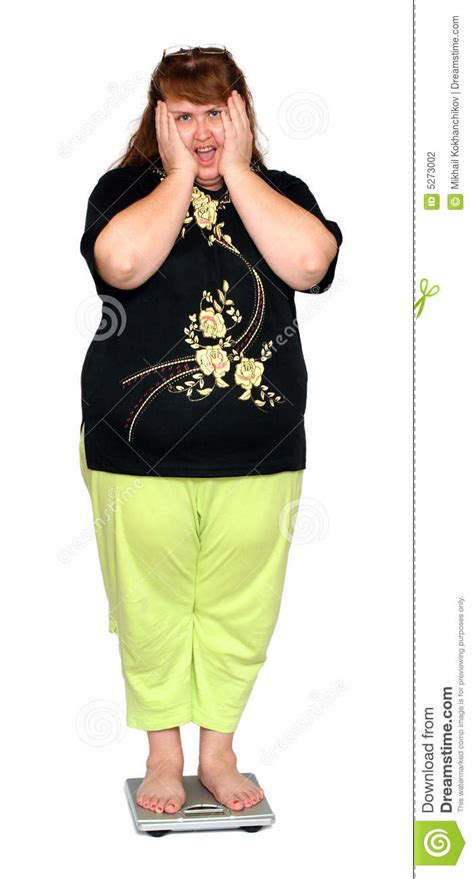 how to photograph heavy women women with overweight on scales stock photography image