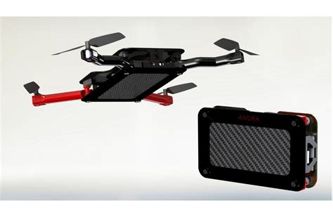 Drone Iphone anura is a new personal drone that folds into a portable