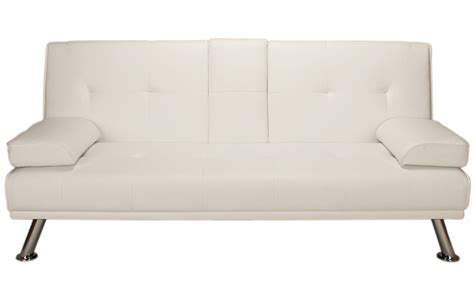 click bed sofa white como click clack sofa bed