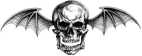 bat tattoo png avenged sevenfold deathbat wallpaper wallpapersafari