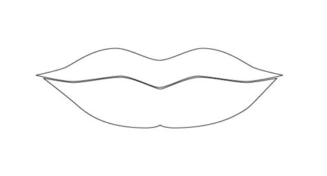 printable mouth templates modeling the human face in illustrator
