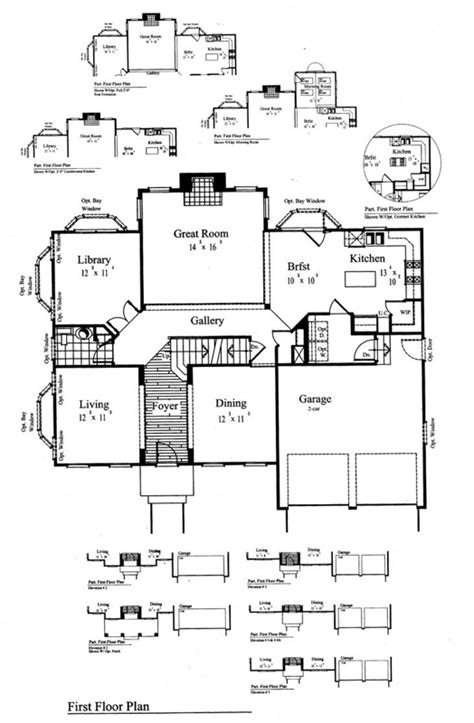 engle homes floor plans