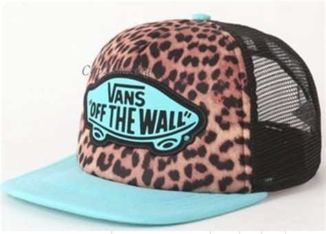Topi Baseball Vans The Wall Shop wholesal zone vans snapback hats the wall leopard mesh hats 016 9 90 new era caps