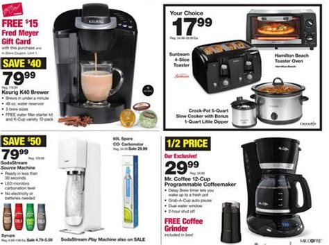 fred meyer kitchen appliances fred meyer black friday ad 2015