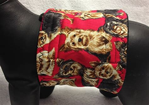 yorkie ear hair removal terrier yorkie belly band wrap marking housebreaking fleece liner