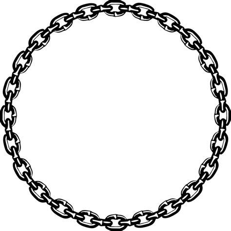 clipart chain frame
