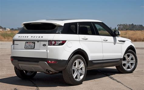 land rover rear 2012 land rover range rover evoque 5 door rear view photo 6