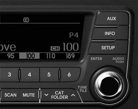 Kia Satellite Radio Kia Optima Gt Gt Using Sirius 174 Satellite Radio Audio System