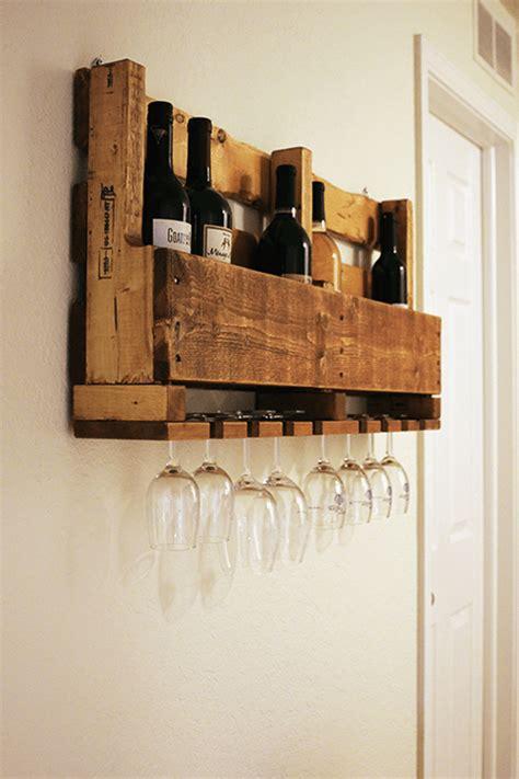 wood pallet wine rack  diy plans guide