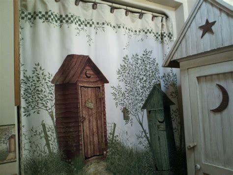 outhouse shower curtains shower curtains showers and curtains on pinterest