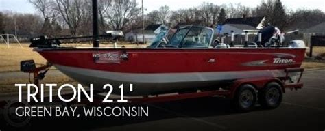 fishing boats for sale green bay wi sold triton dv206 dc magnum boat in green bay wi 076839