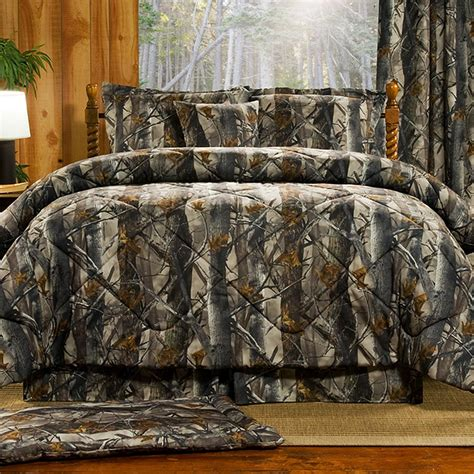Camo Patchwork Quilt Sets - realtree patchwork quilted bedding cabin place