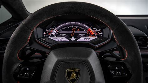 lamborghini huracan evo interior    wallpapers