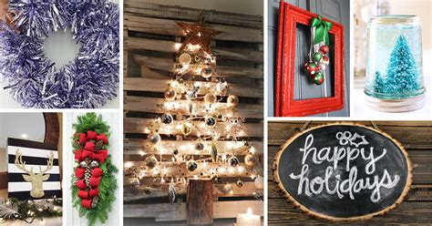 christmas home decor crafts 33 best diy christmas decorations ideas and designs for 2018