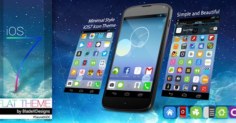 theme apk nova launcher ios7 flat apex nova go theme v1 1 6 apk free download
